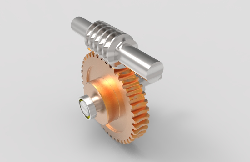 worm gear box pair